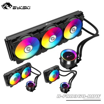 Bykski water cooler CPU integrated Radiator 120mm/240mm/360mm ,Desktop computer integrated cold row FRD series Lazy kit