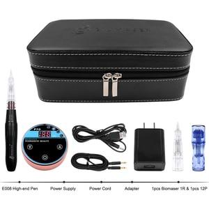Image 5 - BIOMASER Mini güzellik kalıcı makyaj makinesi kaş nakış dijital dövme kalemi kitleri güçlü sessiz Motor kaş dudakları için