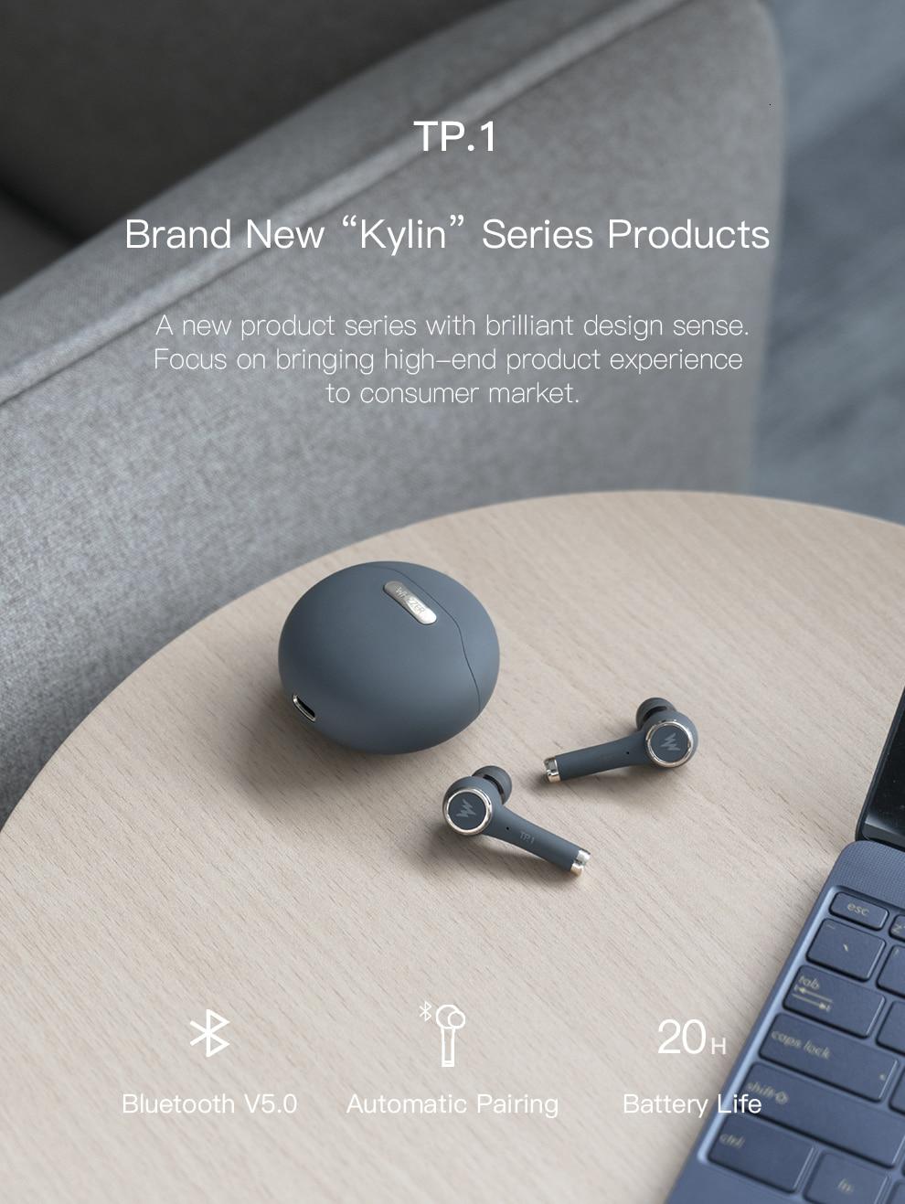 WHIZZER TP1S TWS Wireless Bluetooth Earphone 4