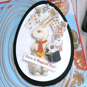Image 5 - 2 Set duże wykrojniki A5 jajka zwykły i szyte księga gości Cardmaking PaperCraft DIY niespodzianka tworzenie umiera