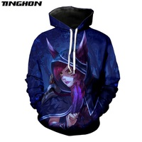 XS-7XL League of Legends Xayah Men Women T Shirt 3D Print Game T Shirt/Sweatshirt/Hoodies Casual Streetwear Pullovers 1