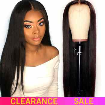 13x4 Lace Front Human Hair Wigs 180 Density Free Part Brazilian Straight Lace Front Wigs With Baby Hair For Black Women Non-Remy - DISCOUNT ITEM  48% OFF All Category