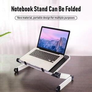 Image 5 - Portable Foldable Laptop Holder Adjustable Notebook PC Monitor Riser Stand