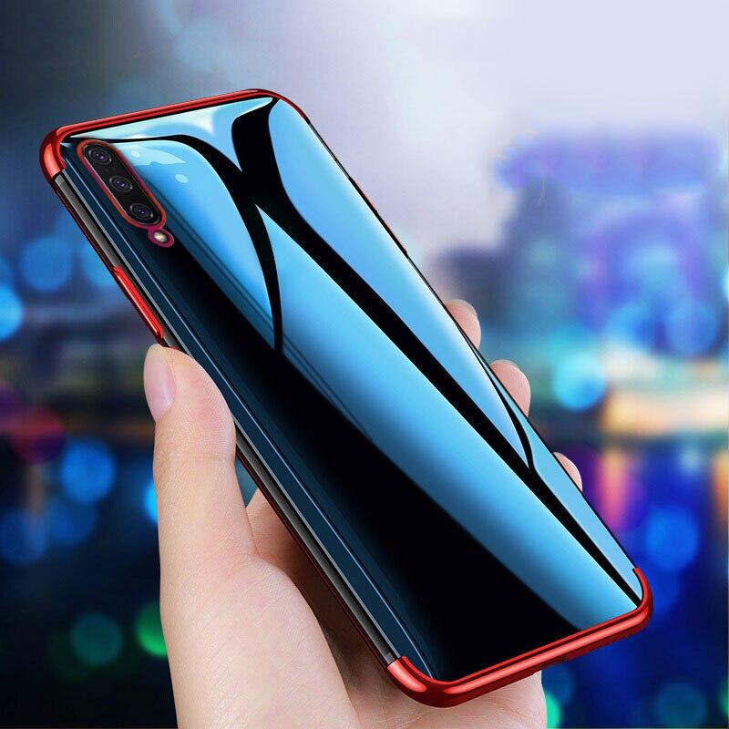 For Xiaomi Mi 9 Pro Case Mi9 Lite Cover Clear Transparent Plating Cover Soft Silicone Case For Xiaomi Mi9 Mi 9 Pro 5G
