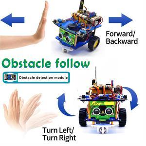 Image 4 - Keyestudio pulpit Mini Bluetooth inteligentny Robot samochodowy zestaw V3.0 dla Arduino Robot macierzystych/wsparcie Mixly bloki kodowania