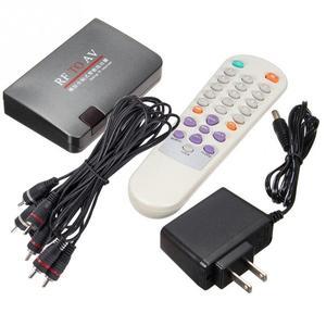 Image 4 - TV Receiver Easy Operation Analog Modulator Home Use Converter RF To AV Stable Signal High Efficiency  Satellite TV Receiver