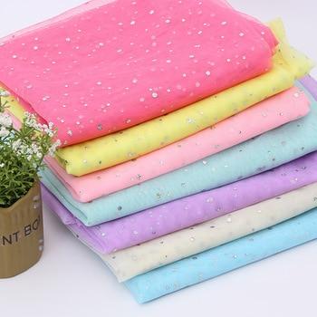 Shiny Dot Mesh Tulle Fabric