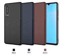 For Xiaomi Redmi 7 Case Shockproof Armor Rubber Silicone leather Phone Case For Xiaomi Redmi 7 Back Cover redmi note 7  Fundas все цены