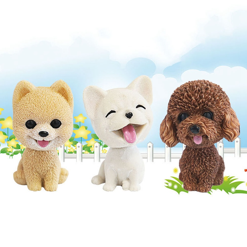 For Pet Fans New Arrivals Travel Accessories Car Dashboard Dog Shaking Head  My Pet World Store