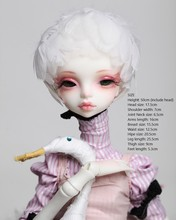 BJD1/4 SD doll chateau kid queena White Swan 51cm doll toy doll baby girl    NO makeup bjd1 4 doll darae