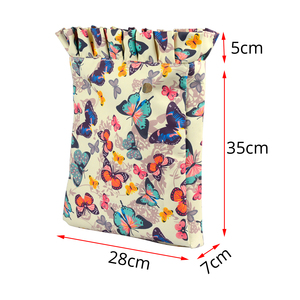 Image 2 - TANQU 2018 Frill Pleat Insert Lining Composite Twill Cloth Inner Pocket for O CHIC Bag OCHIC Waterproof Pocket for Woman Obag