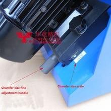 Режущая головка фаски машина, плоское шлифовальное колесо фаски машина, настольный сменный фаски машина