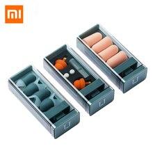 MI Mijia Jordan&Judy беруши для сна с шумоподавлением спальные беруши удобные многоразовые беруши с отскоком звуконепроницаемые беруши
