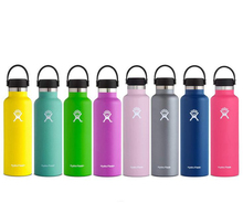 New 21oz Outdoor Sports Bottle Stainless Steel Thermos Bottle Double Wall Vacuum Insulated Cup Hydro Flask Classic Vacuum Bottle