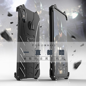 Image 5 - For Xiaomi Mi 10 9 Pro 6X Case BATMAN Armor Heavy Duty Metal Aluminum Case For Xiaomi Max 3 Mix 2S Mi 8 9 Lite Mix 3 Play Cover