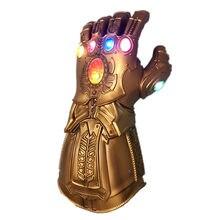 Gant Led de guerre avec armes pour enfants, gant pour adultes, cadeau d'halloween, Cosplay, 4 Endgame, Thanos