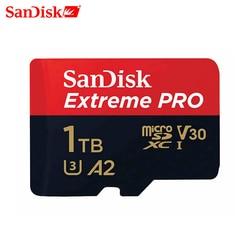 SanDisk Extreme Pro sd micro GB 64GB 128GB 1TB tarjeta de memoria class 10 cartao de memoria de U3 A2 V30 1TB tf tarjeta de memoria para gopro