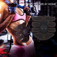 Effective Muscle Trainer for Abdomen Intelligent EMS Fitness Mobile Fat Burning Slim Equipment for Men and Women