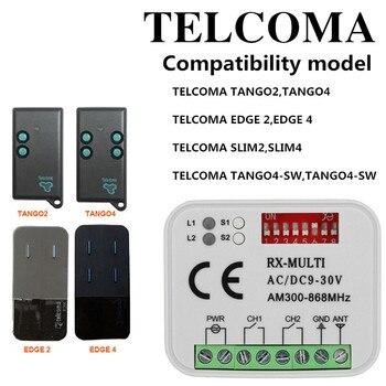 TELCOMA gate garage door remote control receiver Duplicator 433Mhz cloning TELCOMA door phone key duplicator Free shipping original gear fit for duplicator riso mz free shipping