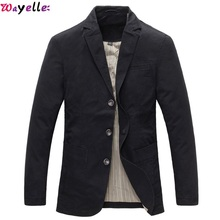Wayelle Leather Jacket Fur Mens Wool Coat Autumn Winter Business Casual Thicked Trench Jackets Gentleman style Lapel Suit