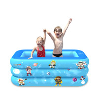 Children Inflatable Swimming Pool Inflatable Bathtub Kids Summer Water Fun Play piscinas grandes para familia бассейн каркасный