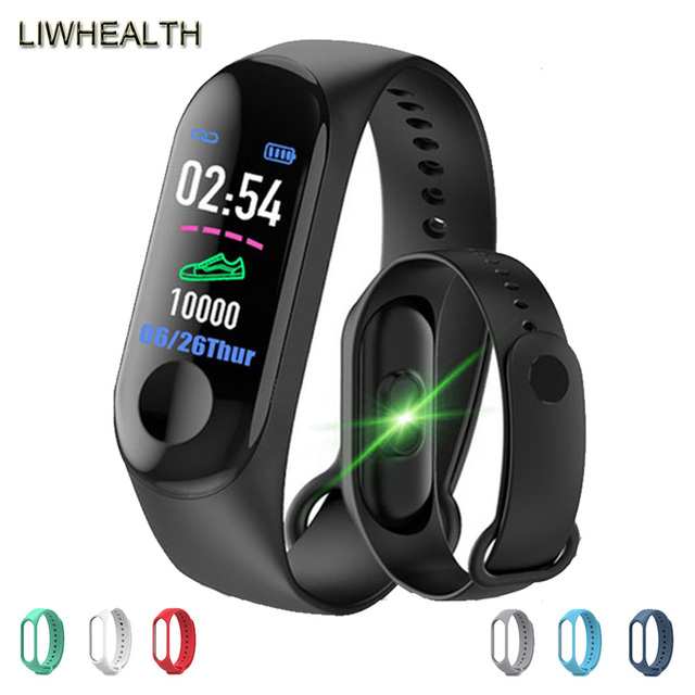 Cheap Smart Watch Men/Women/Kids Smartwatch Step Fitness relogio inteligente For APPLE/Xiaomi/Huawei PK Fit Bits/Mi Band 4 Not