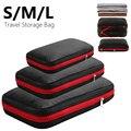 Двухслойная компрессионная сумка для хранения  портативная дорожная сумка для багажа  органайзер для одежды  водонепроницаемые Упаковочны...