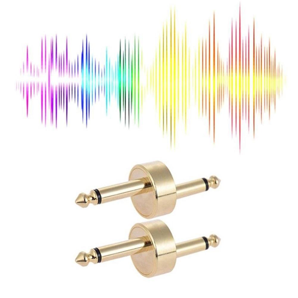 6.35mm Guitar Effect Pedal Connector Coupler Adapter Audio Coupler Guitar Accessories For Boss Marshall Korg Dunlop Coupler