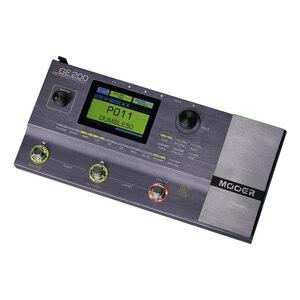 Image 5 - Mooer GE200 Amp modelling Multi Effect Processor Pedal With 26 IR Speaker Cab Model 52 Second Looper 55 Amplifier Models