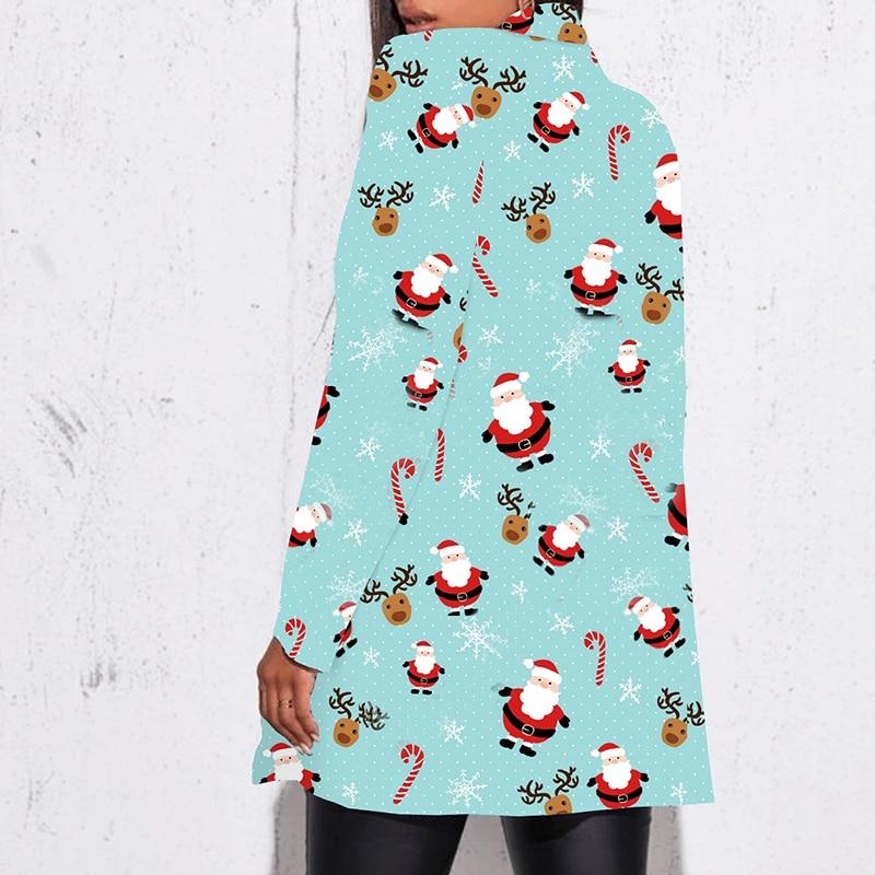 H989918da75314efb8ae03cf6546e667e0 Fashion Trend Women Lapel Leopard Print Long Sleeves Suit Jacket Elegant Fall Winter Office Lady Cardigan Coat Casual Streetwear
