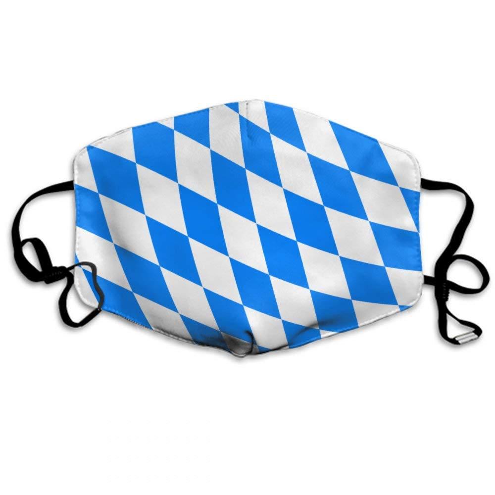 Unisex da Boca da Bandeira da Baviera Ajustável da Poluição da Anti Poeira do Earloop para Correr o Ciclismo Máscara Reusável Respirável Protetora
