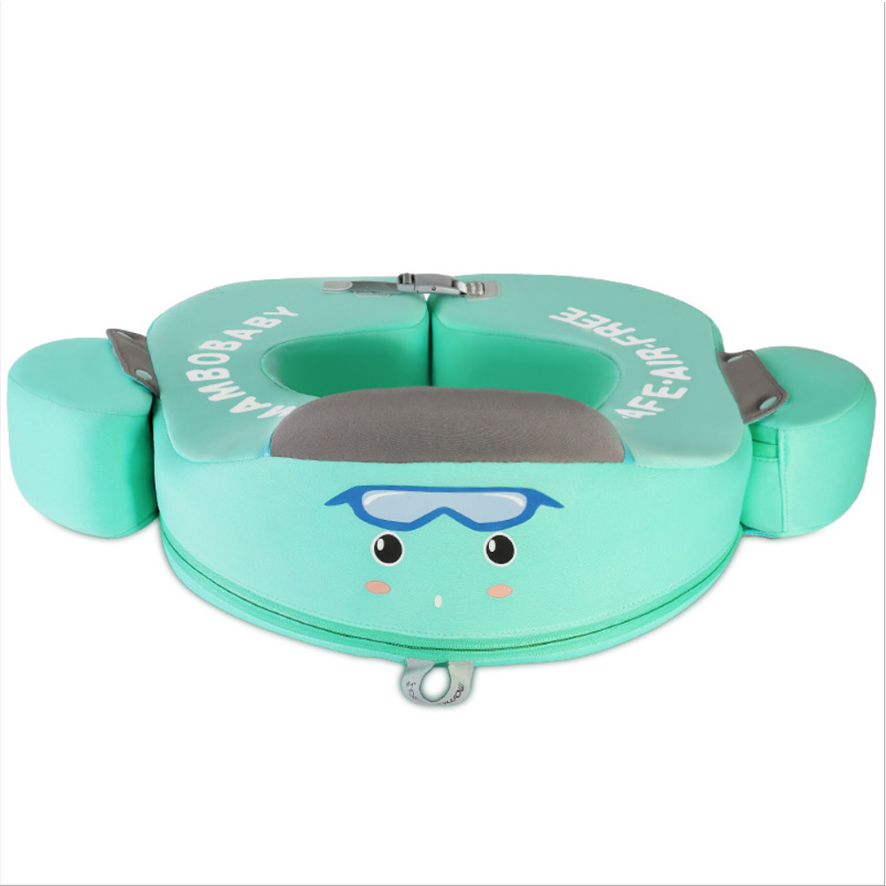 Baby Cartoon Swim Float Swimming Ring UV-protection Pool Lifebuoy  Floating No Need Inflatable Underarm Floats Swim Trainer