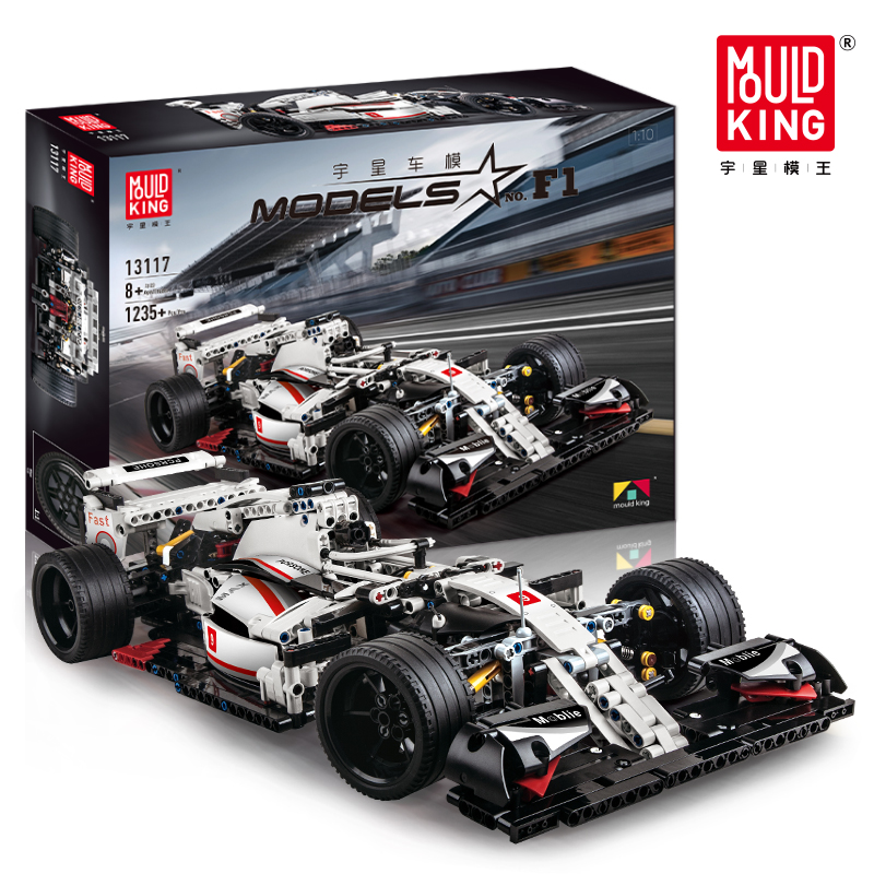 Compatible with Lepining City Technic The Formula one F1 Racing Car Set Model Kit Building Blocks Bricks Toys For Children Gifts image