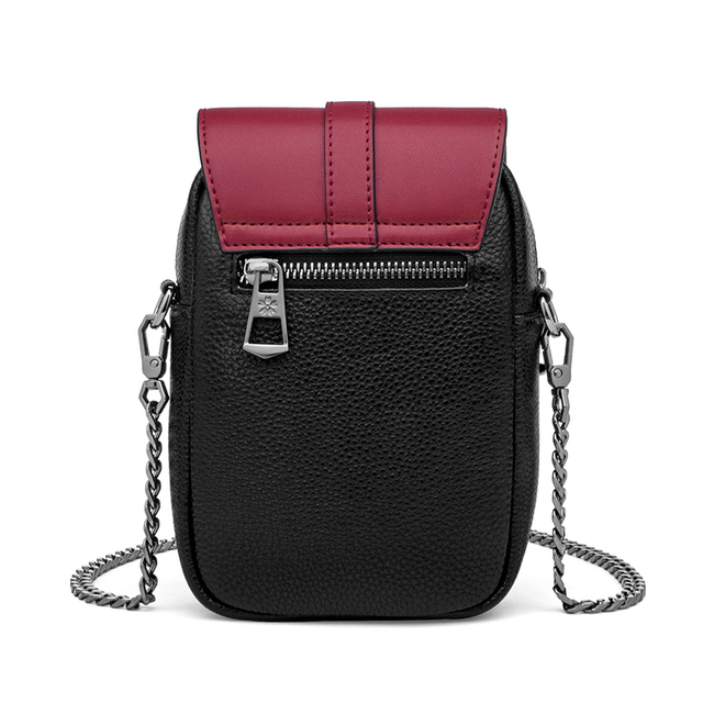 ZOOLER 100% Cow skin Leather Fashion Shoulder Bags High Quality Crossbody Bag  Small Women Bags Designer Phones Coins Bag#WG239