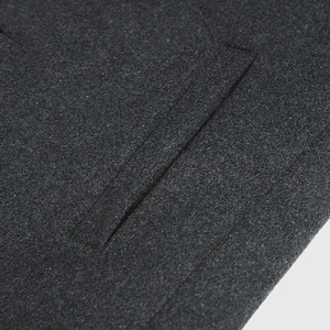 Image 5 - FGKKS מותג גברים החורף מוצק צבע צמר תערובת מעיל באיכות גבוהה גברים של אופנה חדשה חם עבה צמר מעיל Slim fit זכר תערובת