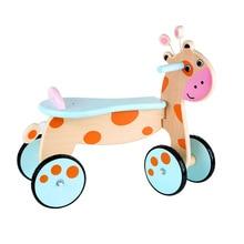 Деревянная детская балансировочная машина мини-олененок прыгающая тележка детские игрушки для мальчиков