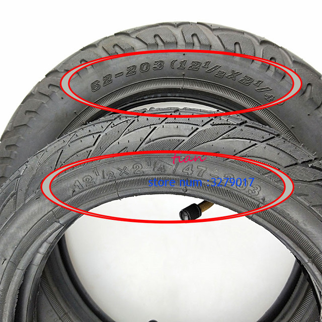 Super12 1/2X2 1/4 (47/57/62 203) lastik Many gaz elektrikli scooter 12 inç tüp lastik ST1201 ST1202 e bisiklet 12 1/2X2 1/4
