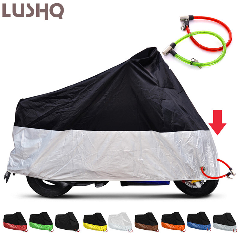 Motorcycle Cover For <font><b>YAMAHA</b></font> <font><b>fazer</b></font> <font><b>600</b></font> r6 <font><b>2000</b></font> dragstar 650 vmax 1200 mt 15 mt 03 xjr 400 r15 v3 fz8 r6 2007 mt03 drag star 400 image