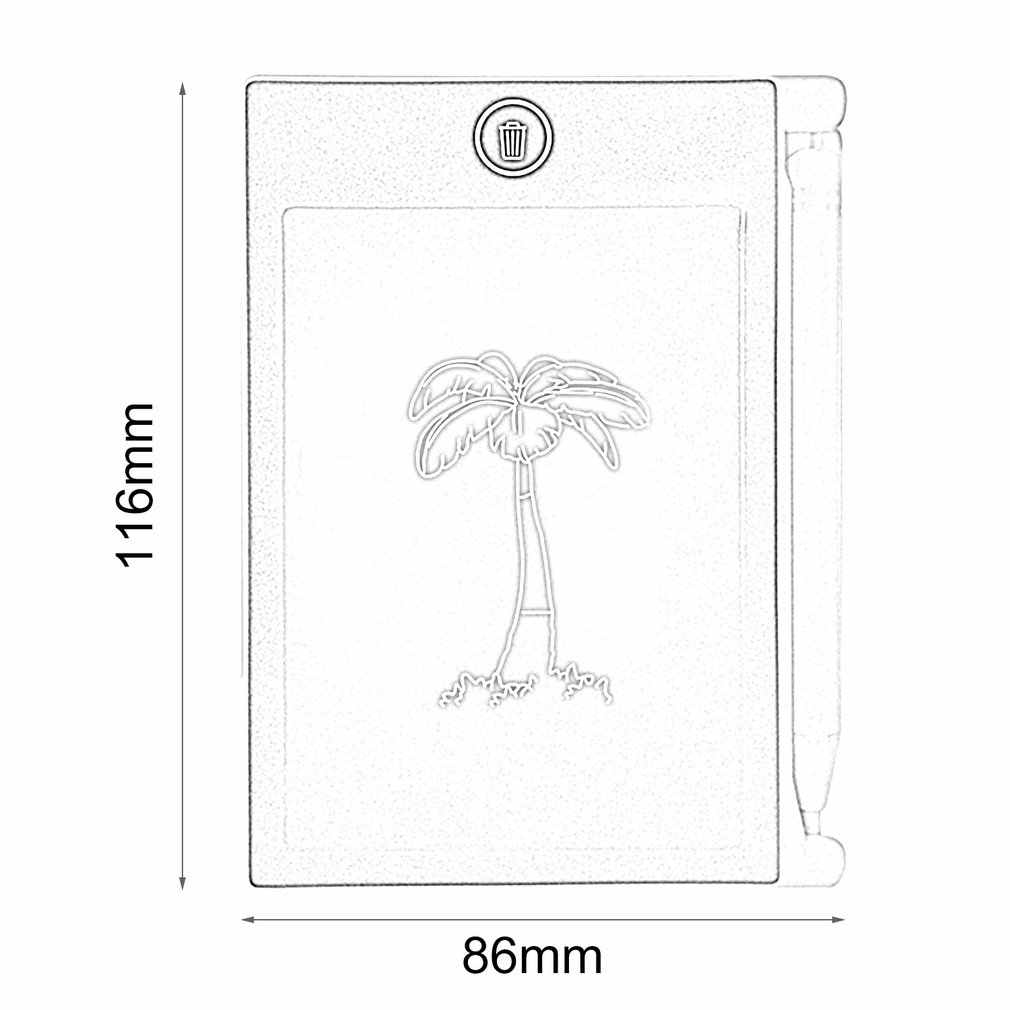 Di Động 4.4 Inch LCD Chữ Viết Tay Bảng Điện Tử Viết Miếng Lót Trẻ Em Người Lớn Máy Tính Bảng Vẽ Notepad Cho Nhà Văn Phòng
