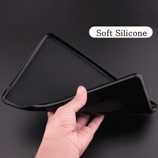 For iPad 10.2 Black Funda iPad 7th 8th Generation Case for Apple iPad 10 2 2020 A2197 A2198 A2200 Smart