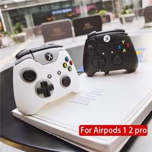 Przezroczysta bezprzewodowa torba na ładowanie słuchawek do Apple AirPods 1 2 Pro obudowy twardy komputer zestaw słuchawkowy Bluetooth Clear Protective tanie tanio centechia CN (pochodzenie) Słuchawki Przypadki 7*5*3 for Airpods Pro 123 Silikon