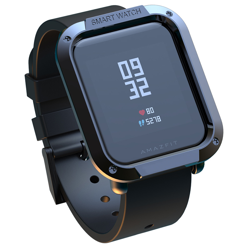 For Amazfit Bip Case Watch Protector For Xiaomi Huami SIKAI Tough Armor Cover Bip Midong Bumper PC Shell Lightweight Colourful