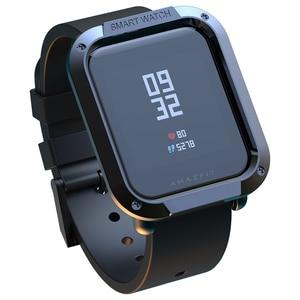 Voor Amazfit Bip Case Horloge Protector Voor Xiaomi Huami Tough Armor Cover Bip Lite Bip Midong Bumper Pc Shell Kleurrijke(China)