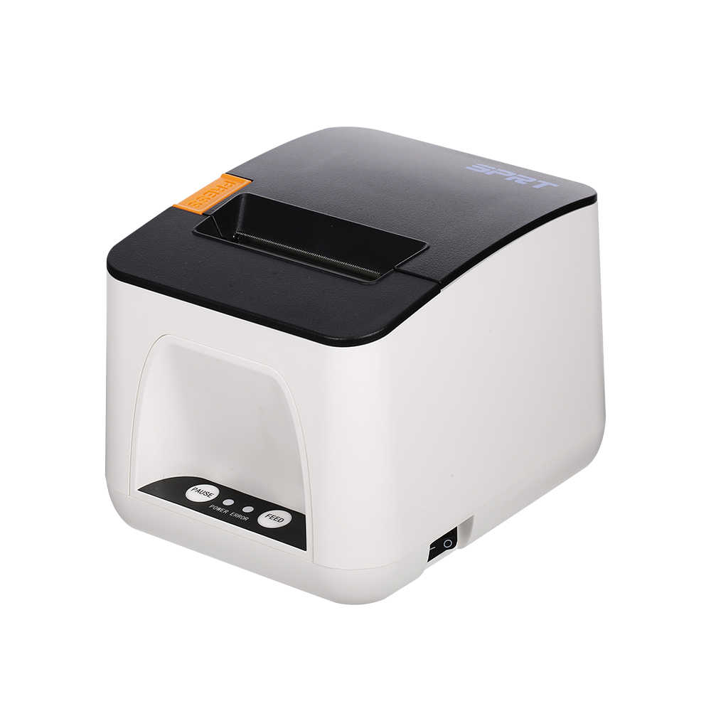 Multifungsi Termal Printer Label Printer Printer Penerimaan Nirkabel BT Mobile Printer untuk Supermarket Restoran EU/US Plug