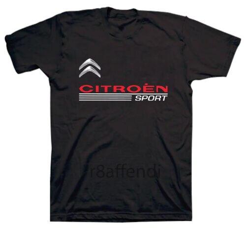 New Citroen Sport Racing T-Shirt Unisex Size S-3XL