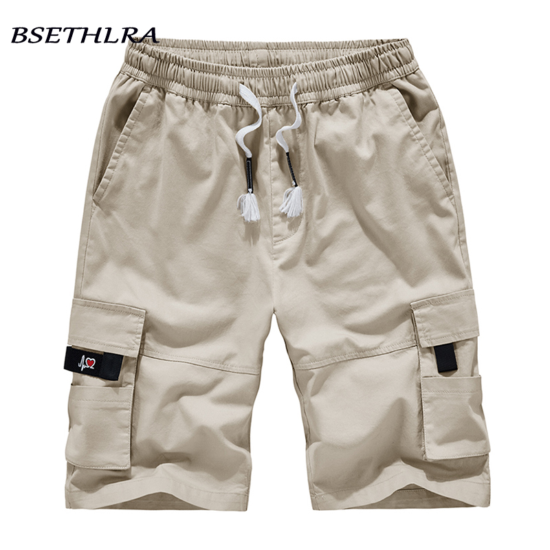 2020 New Summer Men Shorts Fashion Cotton Quality Short Pants Mens Casual Shorts Homme Holiday Beach Cargo Shorts M-8XL