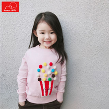 autumn spring baby girls sweater fashion kids knitwear sweater cute children pullover clothes kids tops clothing 2018 spring autumn girls sweaters fashion cotton preppy kids knitwear sweater pullovers children clothes 4 6 8 10 12 13 years