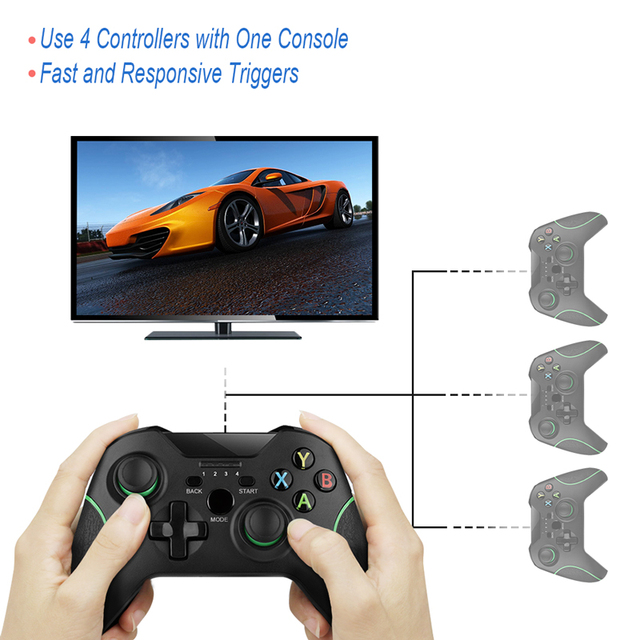 Wireless Gamepad For PS3/IOS/Android Phone/PC/TV Box Joystick 2.4G Joypad Game Controller For Xiaomi Smart Phone  Accessories 5