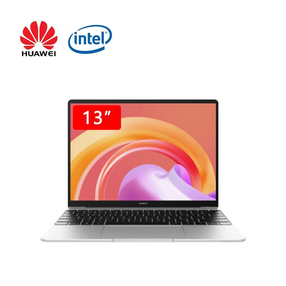 Huawei MateBook 13 2021 ноутбук i7-1165G7 16 Гб оперативной памяти 512 ГБ SSD 13 дюймов полный экран ноутбук компьютер с сенсорным экраном и ультратонких ноутбу...