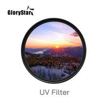 Kamera UV filtreleri 30 37 40.5 43 49 mm 52MM 55MM 58MM 62MM 67MM 72MM 77MM 82mm 86mm 95mm 105mm Canon nikon kamera lensler